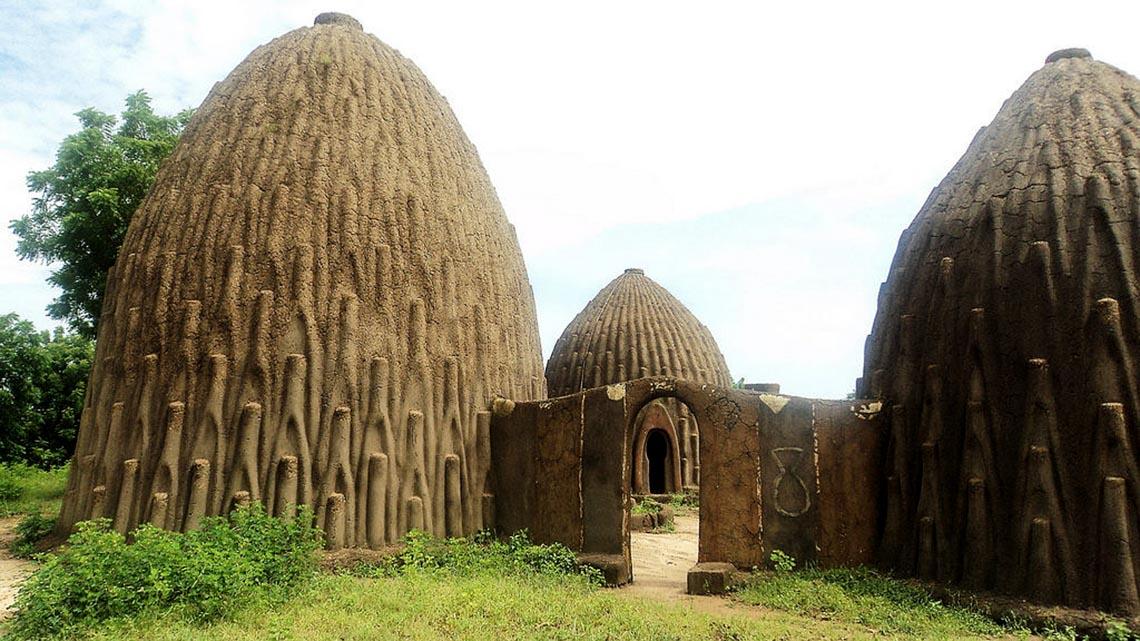 Giản dị mà bền vững lều dân gian châu Phi -13