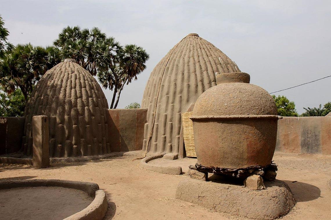 Giản dị mà bền vững lều dân gian châu Phi -14