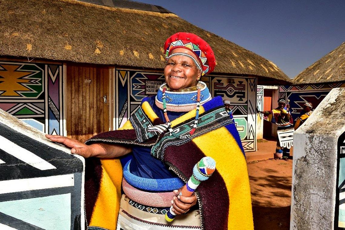 Giản dị mà bền vững lều dân gian châu Phi -17