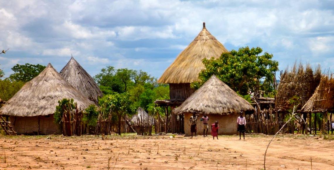 Giản dị mà bền vững lều dân gian châu Phi -19