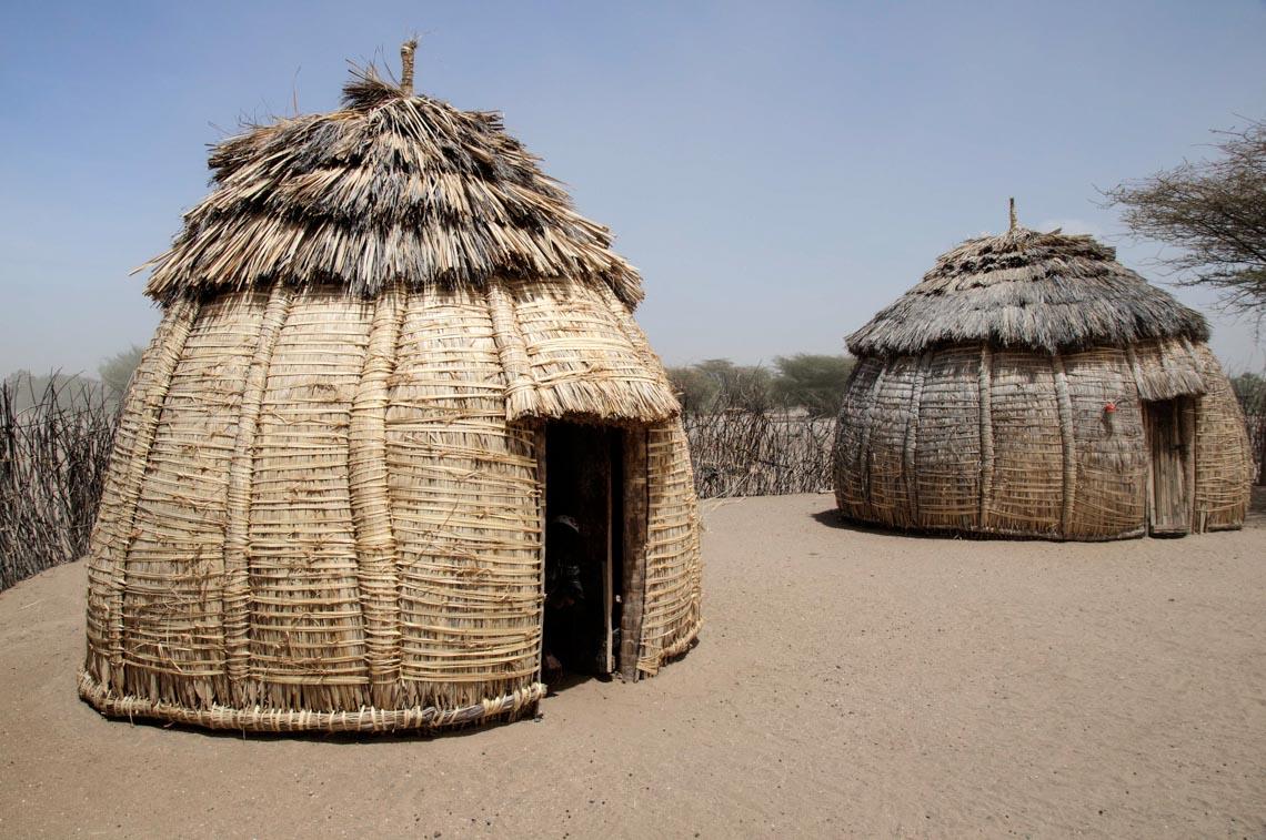 Giản dị mà bền vững lều dân gian châu Phi -20