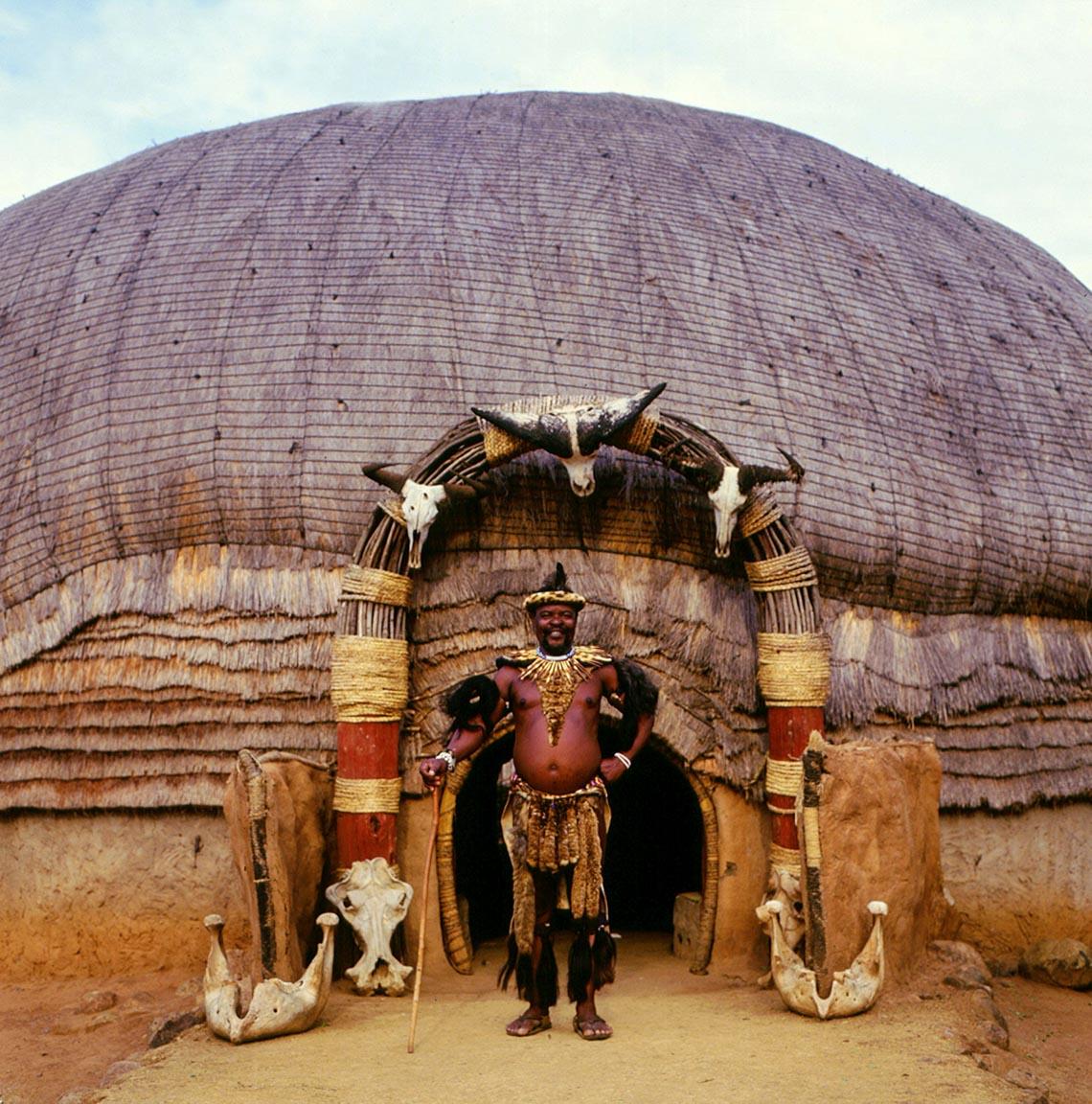 Giản dị mà bền vững lều dân gian châu Phi -21