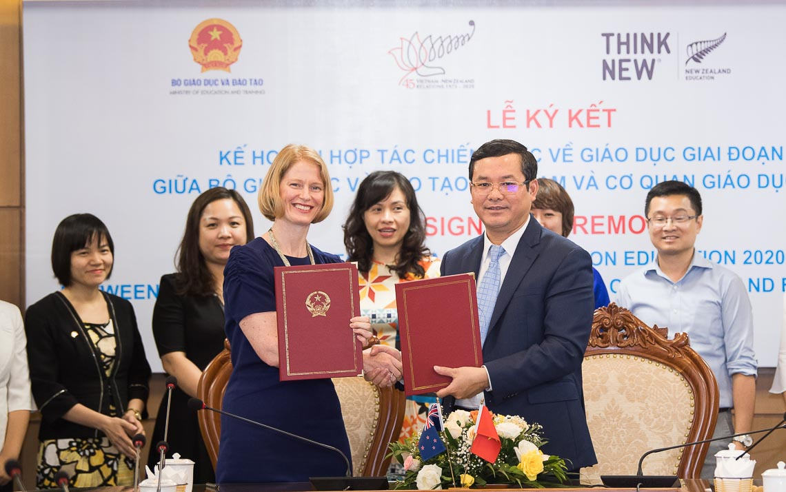 New Zealand và Việt Nam cam kết hợp tác chiến lược về giáo dục trong giai đoạn mới - 1