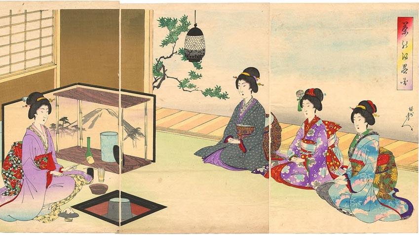 Hiện đại hóa nghệ thuật uống trà ở Nhật Bản -7