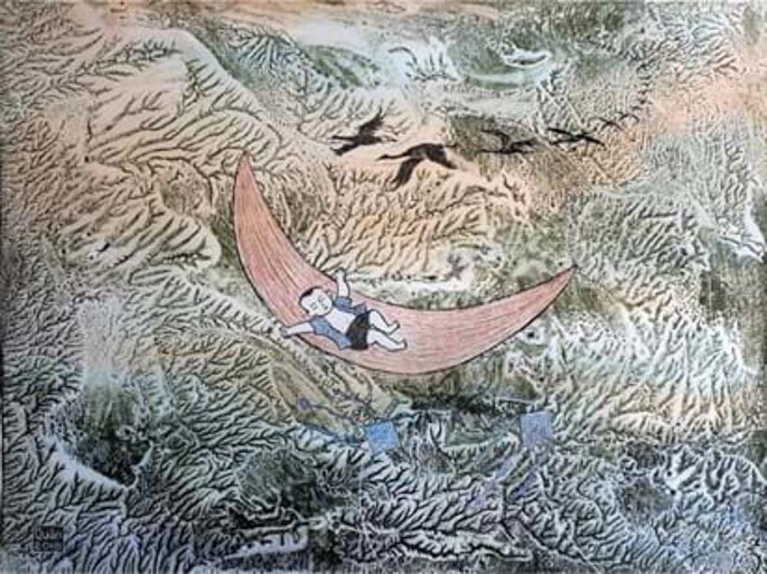 Họa sĩ Trần Văn Quân: 30 năm khám phá và đam mê đồ họa -5