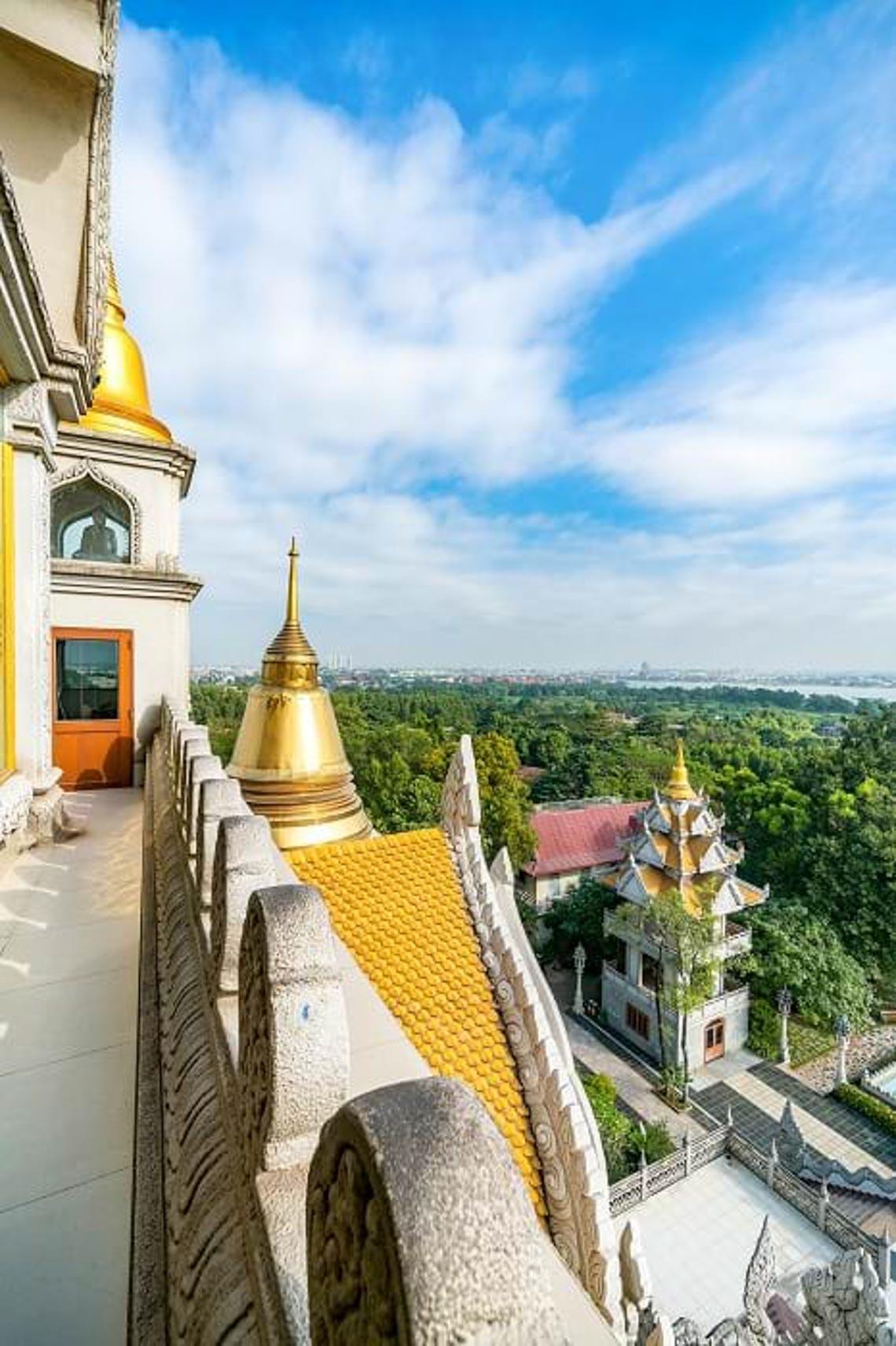 Nét kiến trúc theo phong cách Thái Lan của ngôi chùa trong Top đẹp nhất thế giới -1