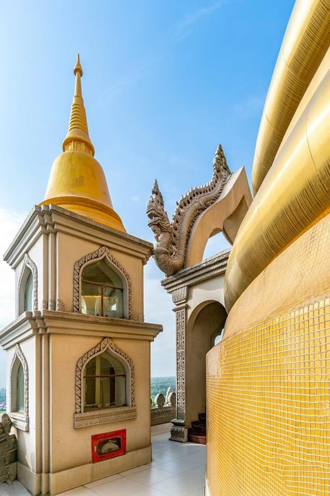 Nét kiến trúc theo phong cách Thái Lan của ngôi chùa trong Top đẹp nhất thế giới -4