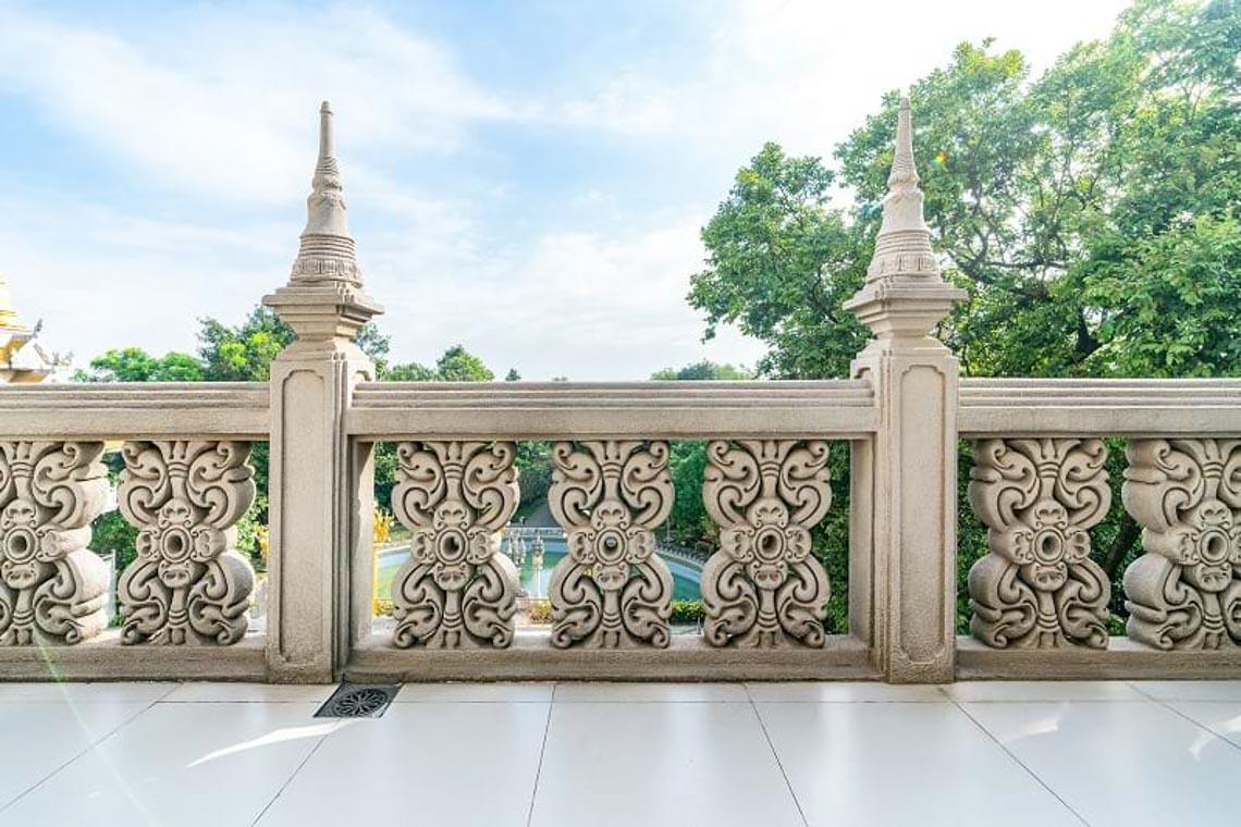 Nét kiến trúc theo phong cách Thái Lan của ngôi chùa trong Top đẹp nhất thế giới -7