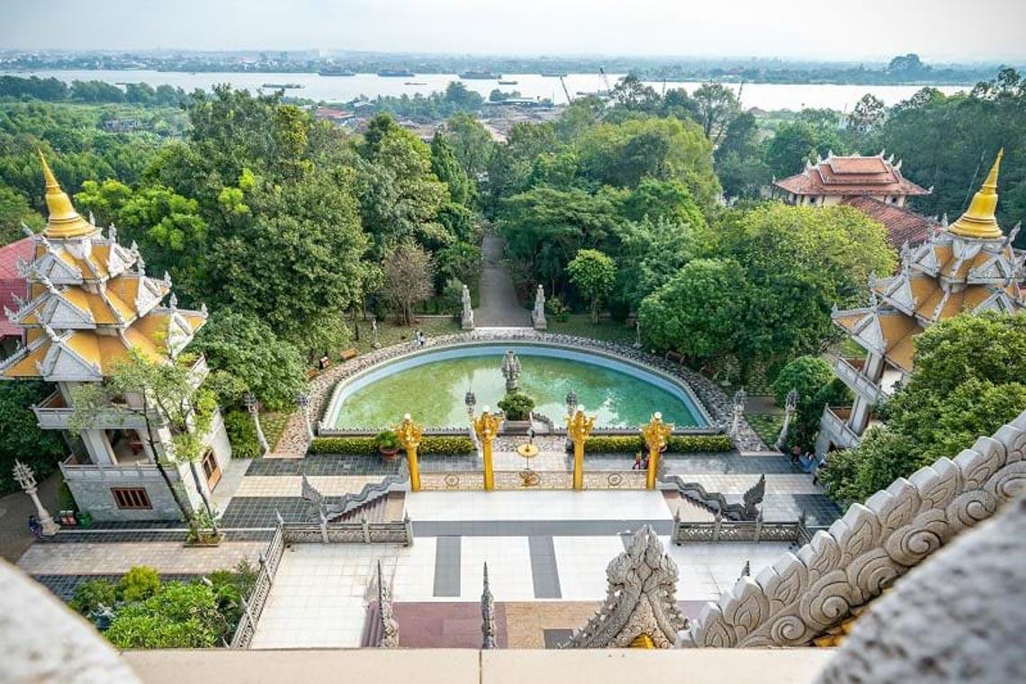 Nét kiến trúc theo phong cách Thái Lan của ngôi chùa trong Top đẹp nhất thế giới -8