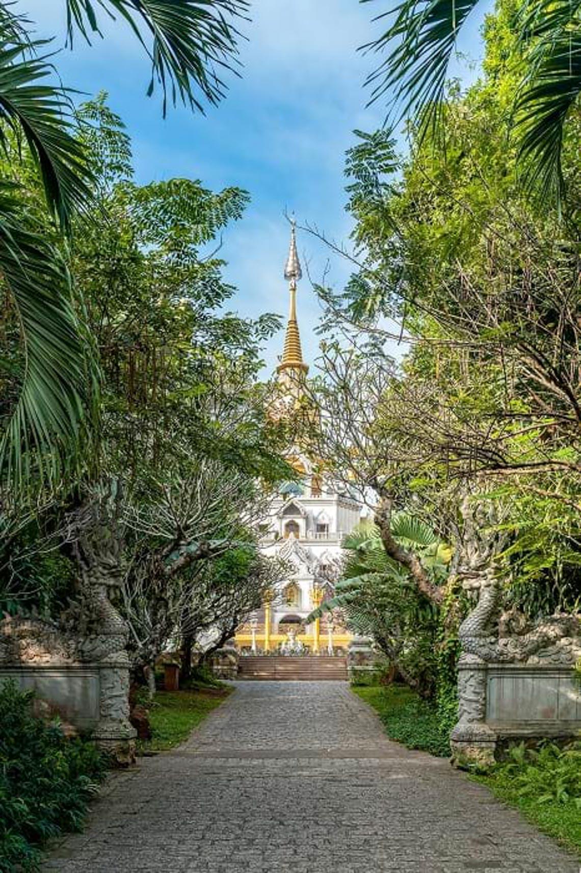 Nét kiến trúc theo phong cách Thái Lan của ngôi chùa trong Top đẹp nhất thế giới -10