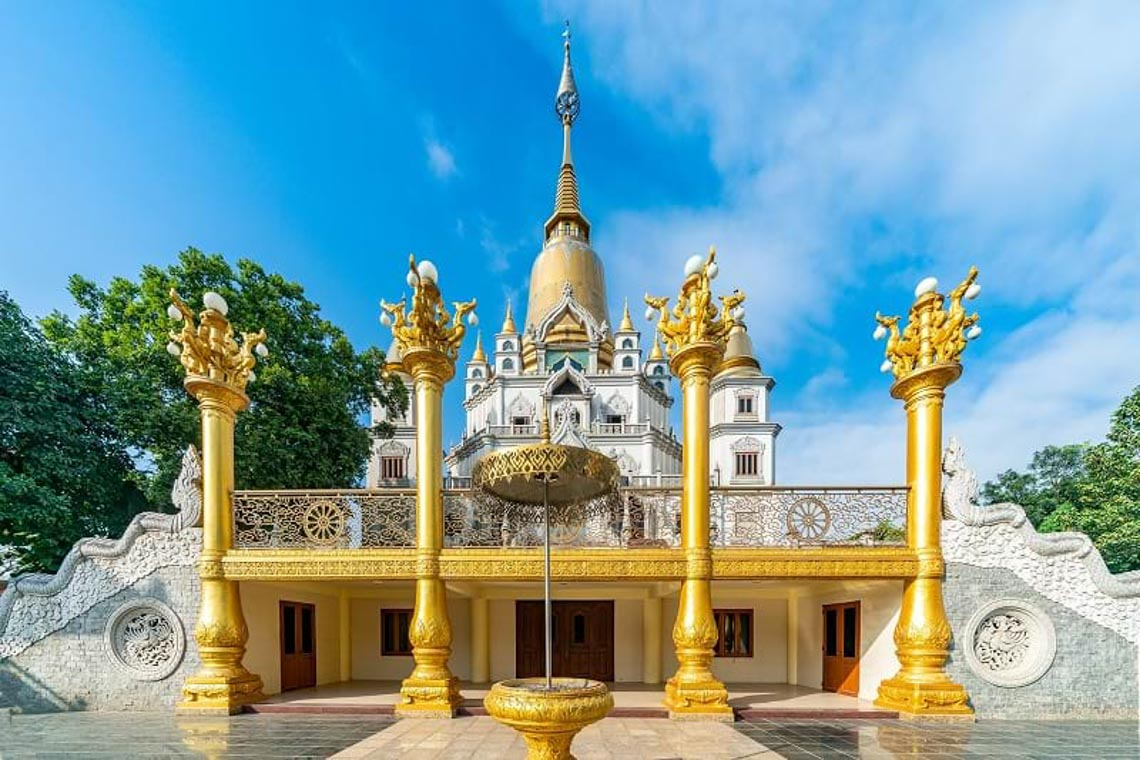 Nét kiến trúc theo phong cách Thái Lan của ngôi chùa trong Top đẹp nhất thế giới -11