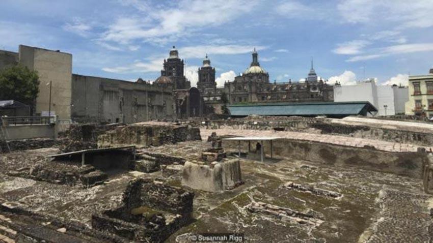 Kỳ quan cổ bên dưới bề mặt thành phố Mexico City hiện đại -5