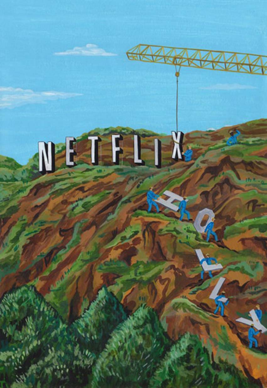 Netflix - Kẻ phá bĩnh trong làng làm phim -4