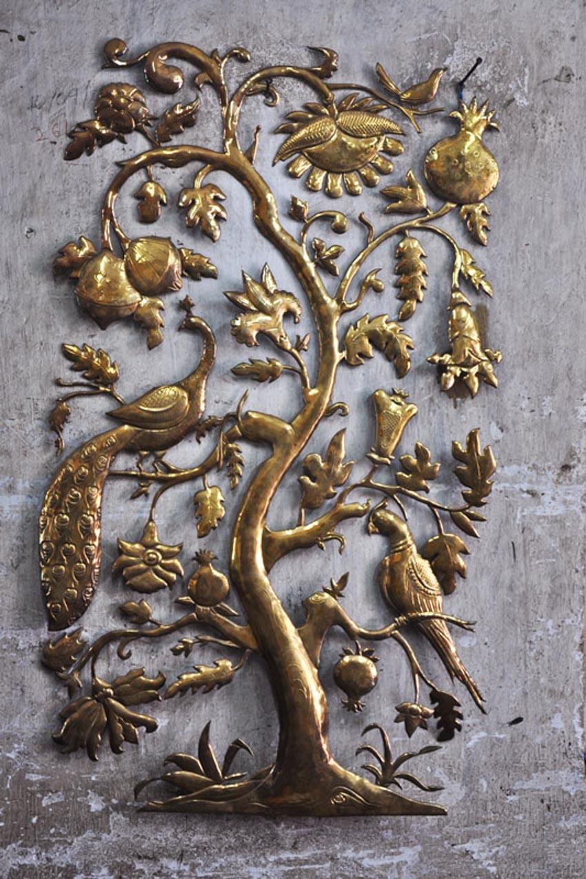 Nghệ thuật chạm rập nổi kim loại của Ấn Độ -3