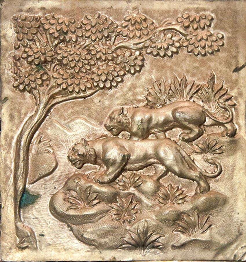 Nghệ thuật chạm rập nổi kim loại của Ấn Độ -16