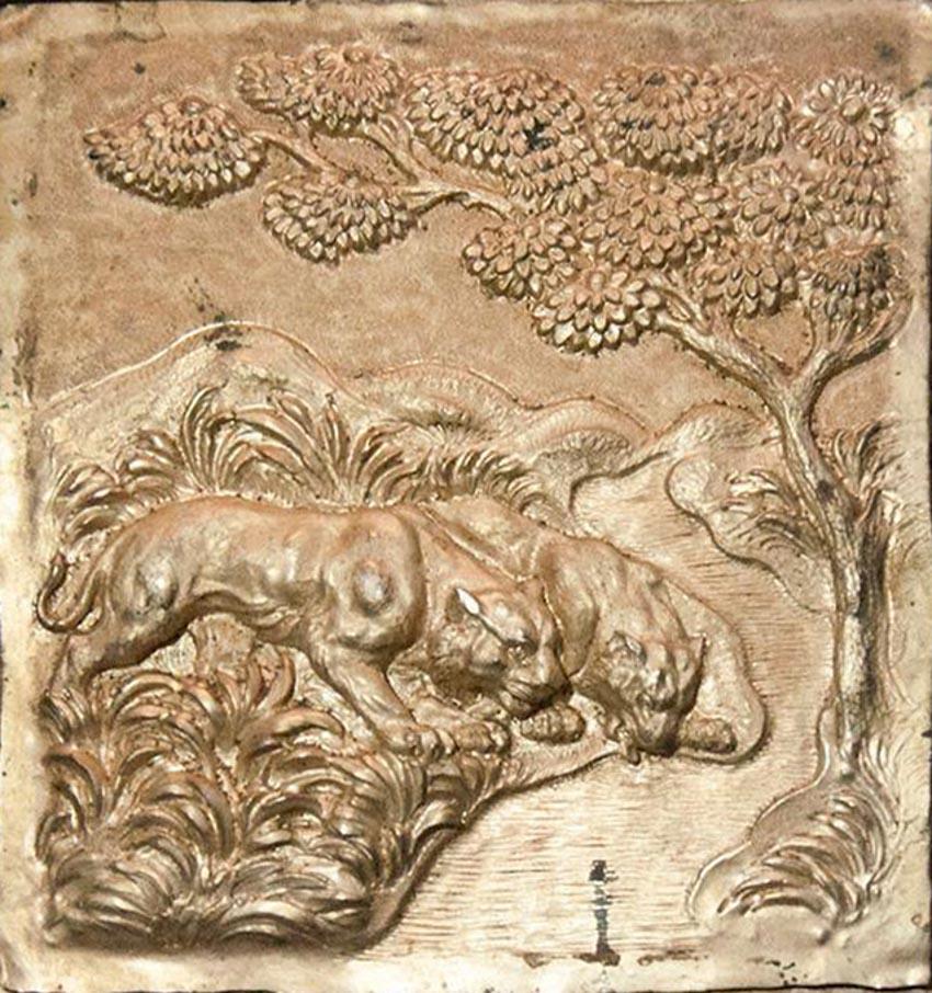 Nghệ thuật chạm rập nổi kim loại của Ấn Độ -17