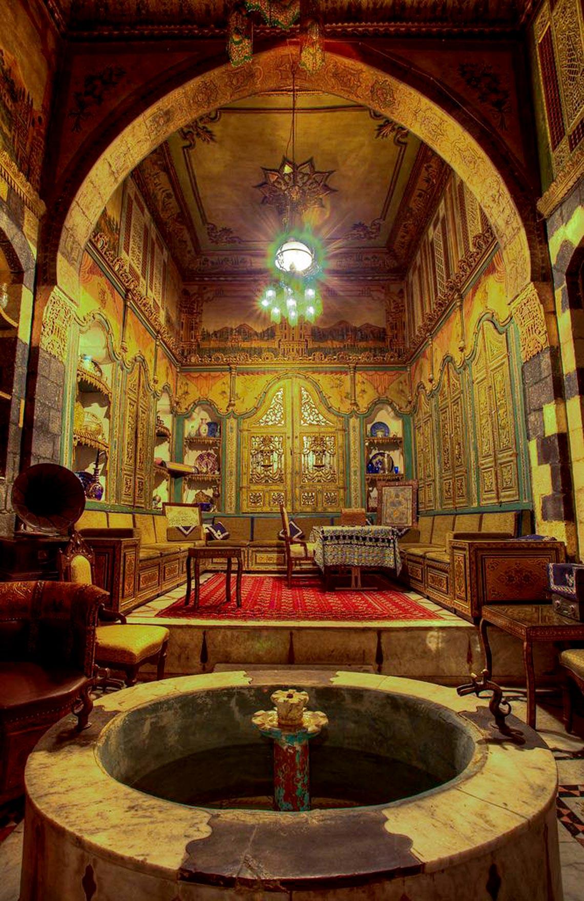Nhà cổ truyền Syria, mát rượi và bình yên -12