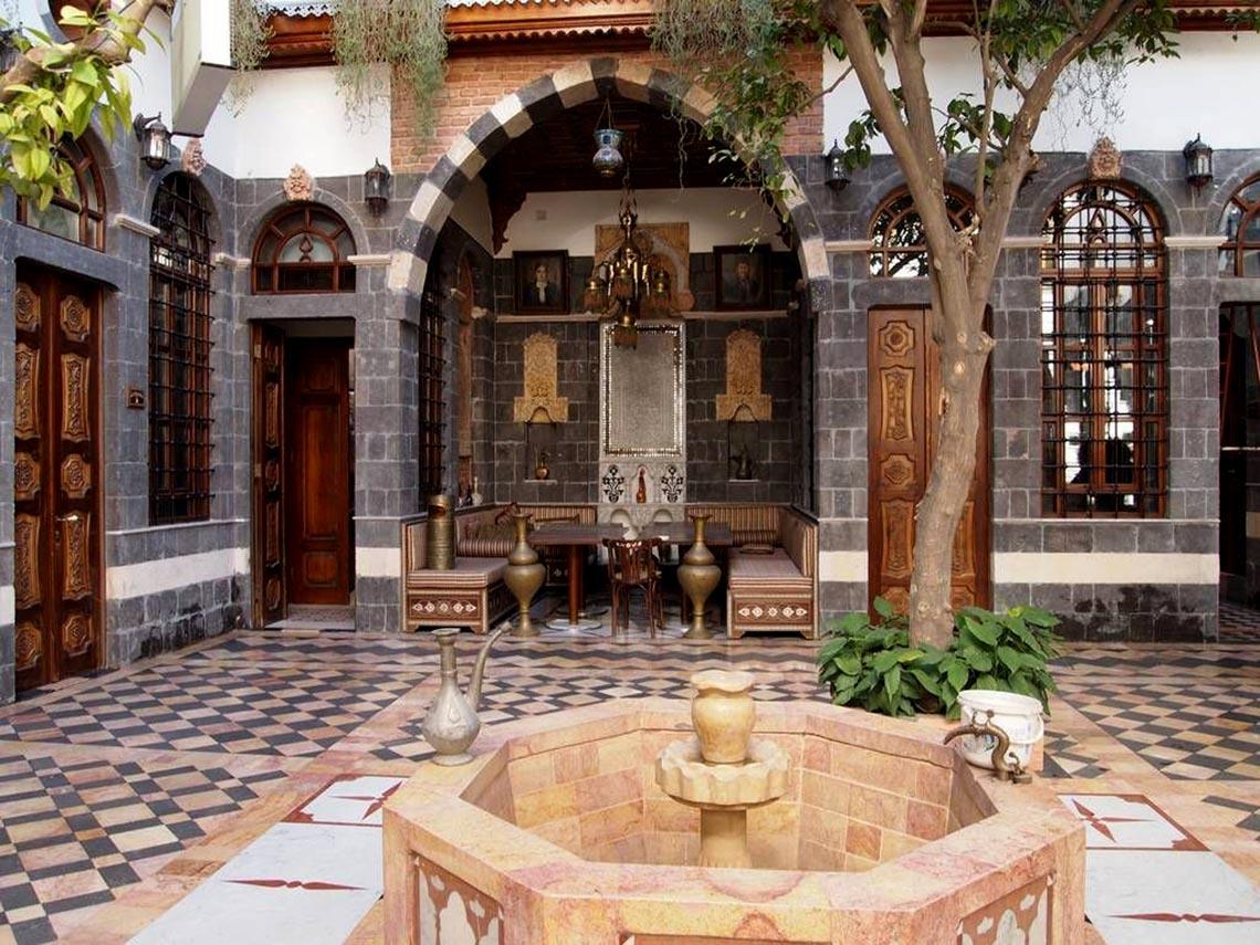 Nhà cổ truyền Syria, mát rượi và bình yên -4