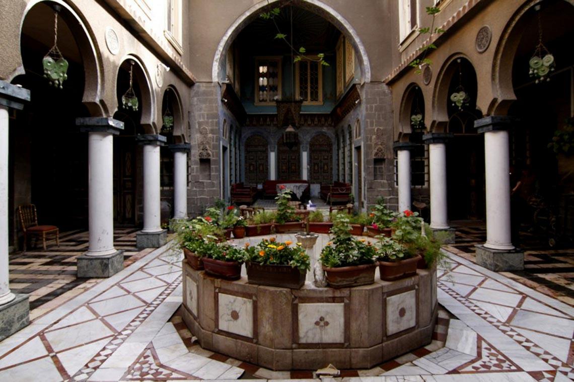 Nhà cổ truyền Syria, mát rượi và bình yên -7