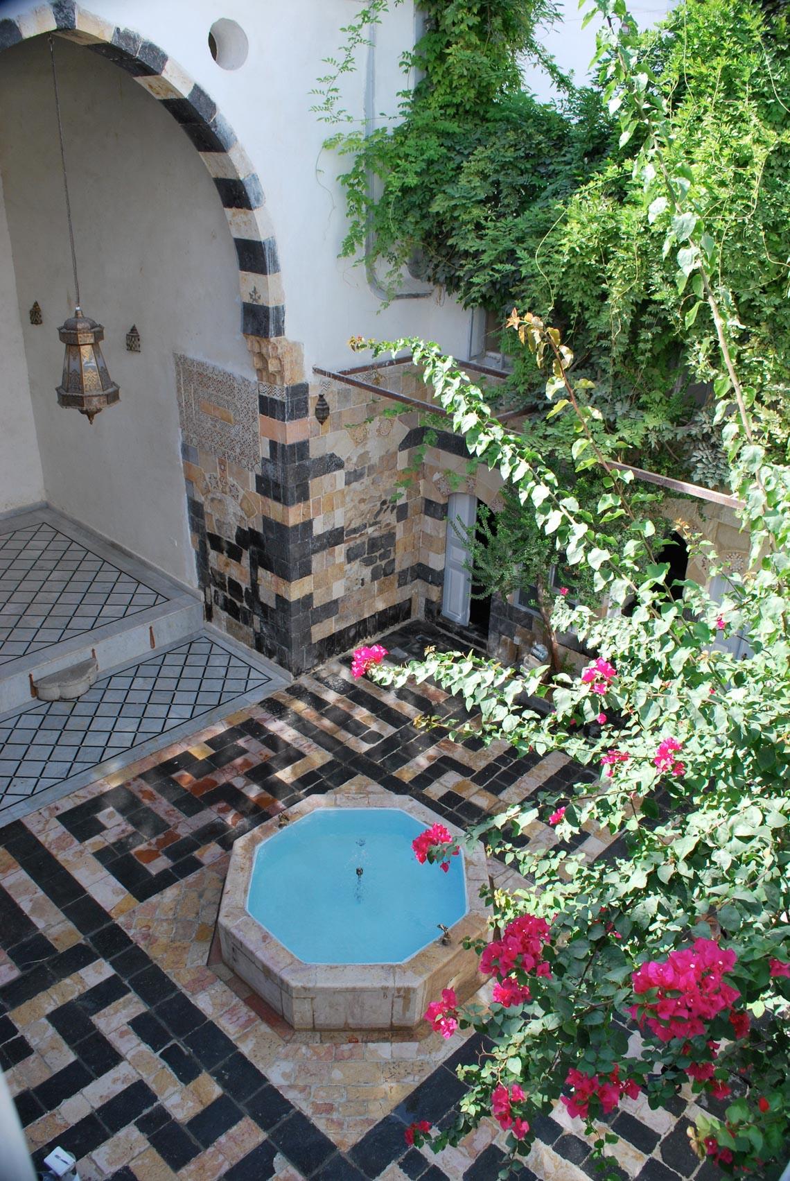 Nhà cổ truyền Syria, mát rượi và bình yên -9
