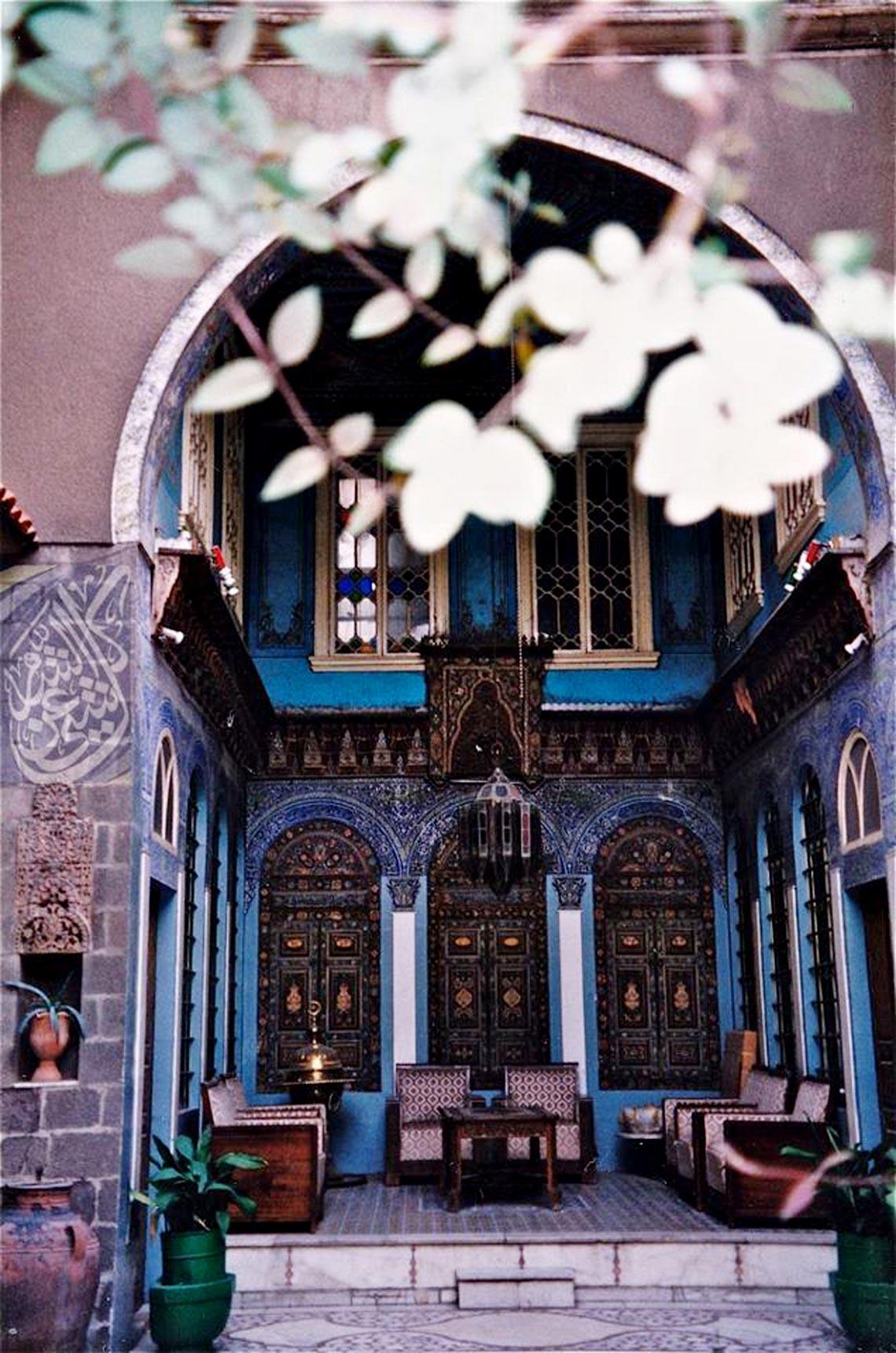 Nhà cổ truyền Syria, mát rượi và bình yên -11