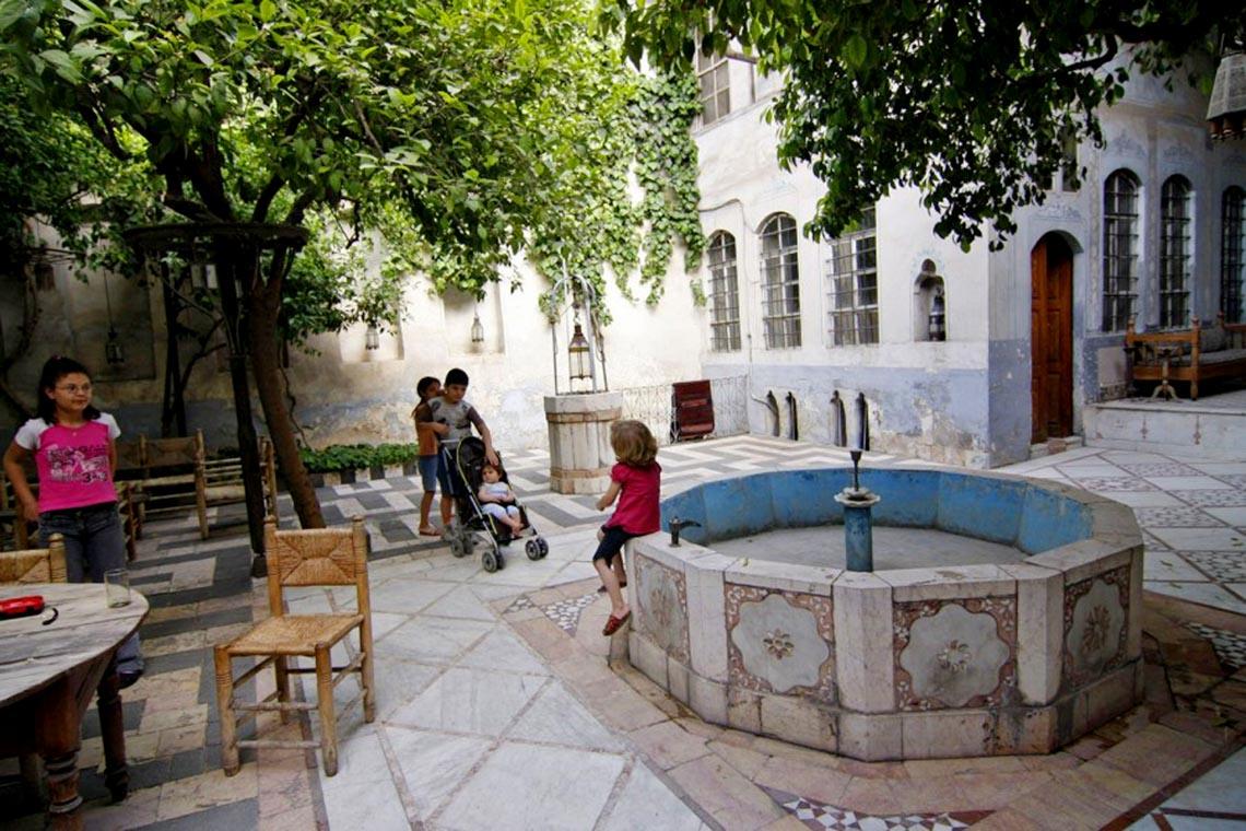 Nhà cổ truyền Syria, mát rượi và bình yên -14