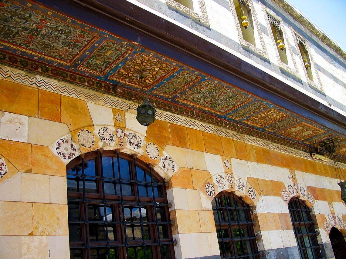 Nhà cổ truyền Syria, mát rượi và bình yên -15