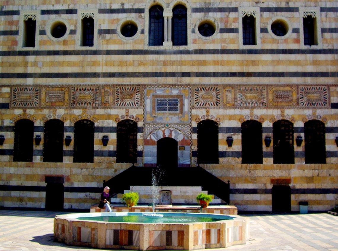 Nhà cổ truyền Syria, mát rượi và bình yên -16