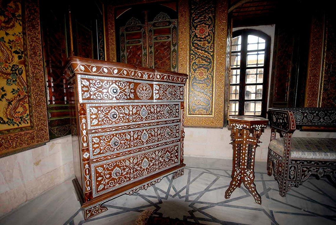 Nhà cổ truyền Syria, mát rượi và bình yên -18