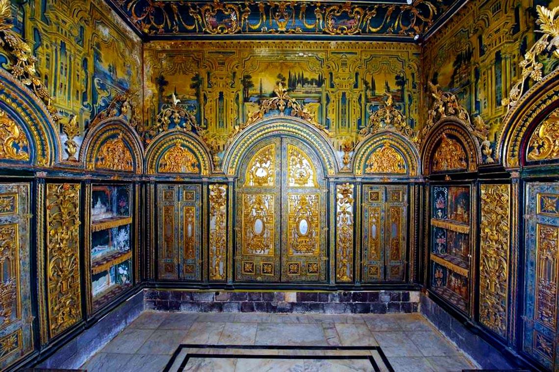 Nhà cổ truyền Syria, mát rượi và bình yên -19