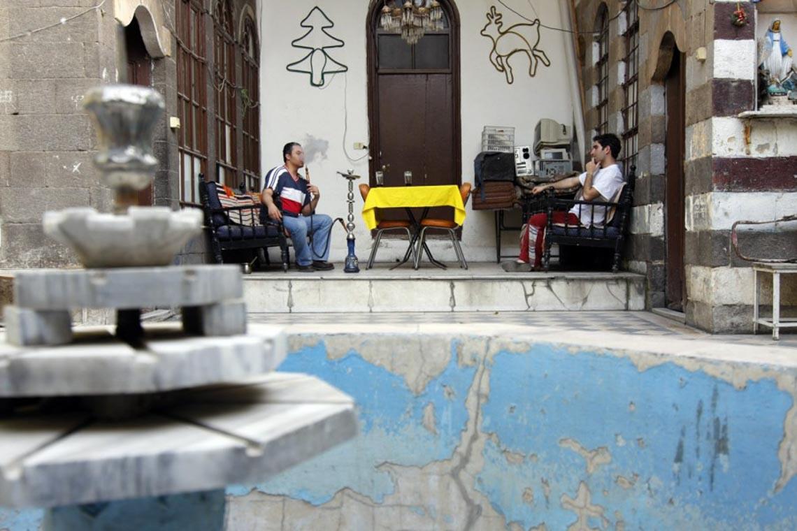 Nhà cổ truyền Syria, mát rượi và bình yên -20
