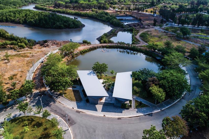 Pavilion Can Gio Ho Chi Minh - Tòa nhà hình cánh chim -1