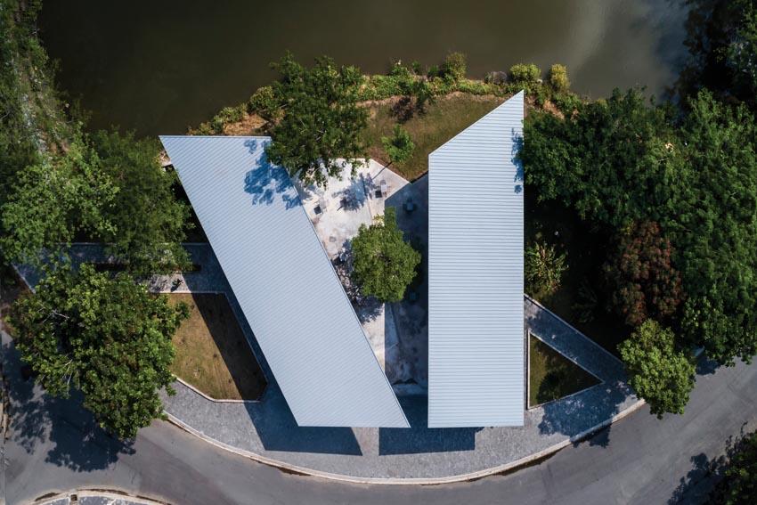 Pavilion Can Gio Ho Chi Minh - Tòa nhà hình cánh chim -2