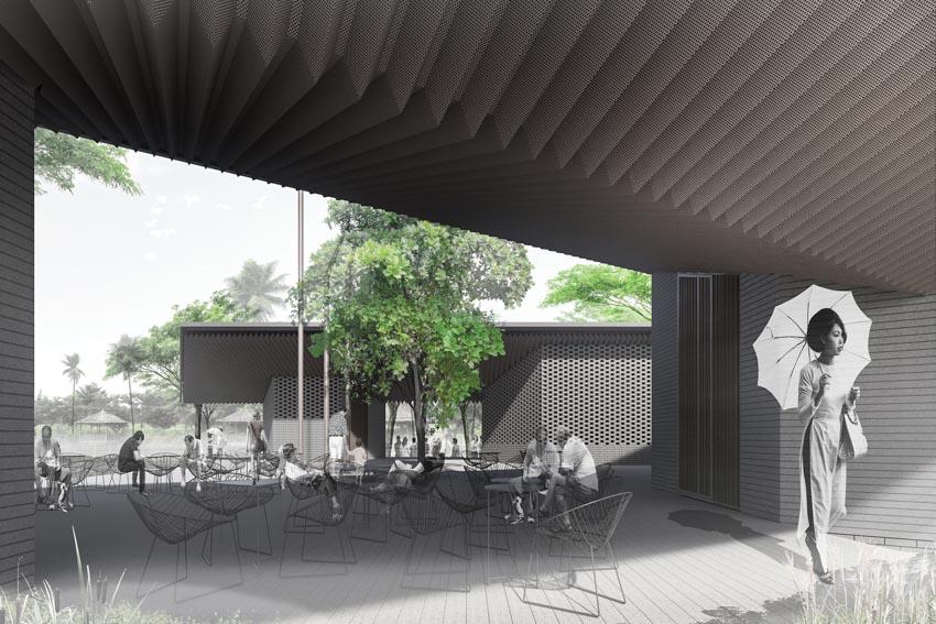 Pavilion Can Gio Ho Chi Minh - Tòa nhà hình cánh chim -29
