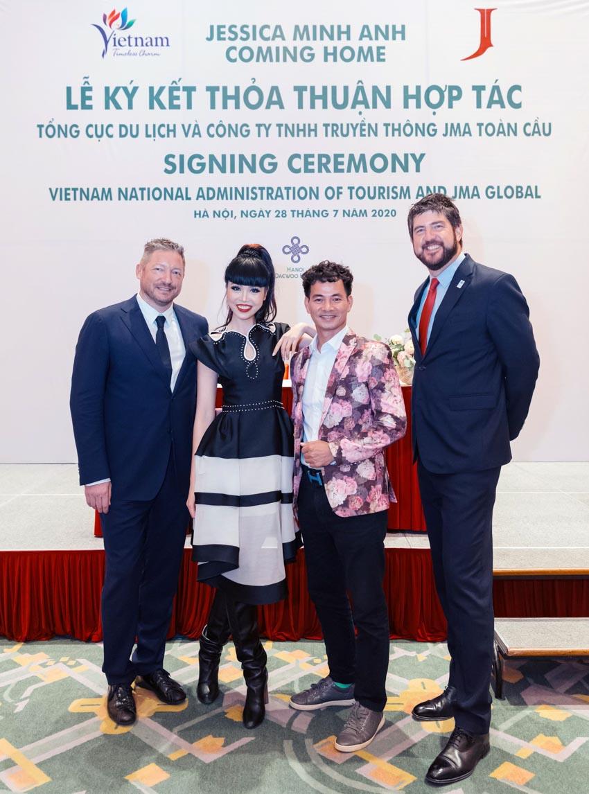 Siêu mẫu quốc tế Jessica Minh Anh sẽ quảng bá du lịch Việt Nam -4