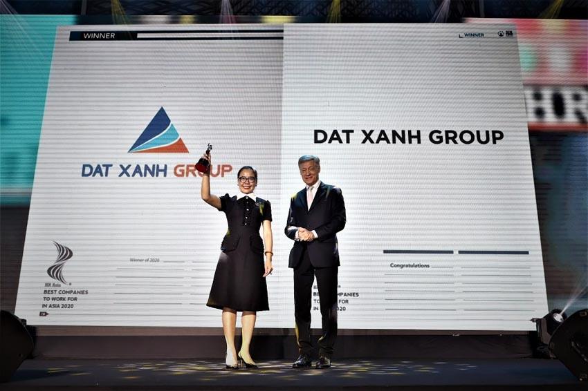 Đất Xanh được vinh danh 'Doanh nghiệp có môi trường làm việc tốt nhất châu Á năm 2020' -1