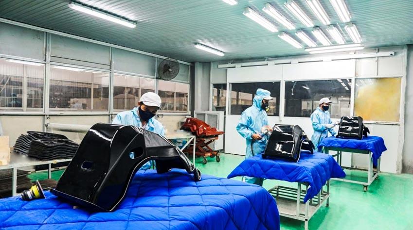 Thaco xuất khẩu khung ghế composite sang thị trường Nhật Bản -2