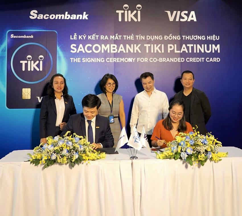 Thẻ tín dụng Sacombank Tiki Platinum - giải pháp mua sắm thông minh -1