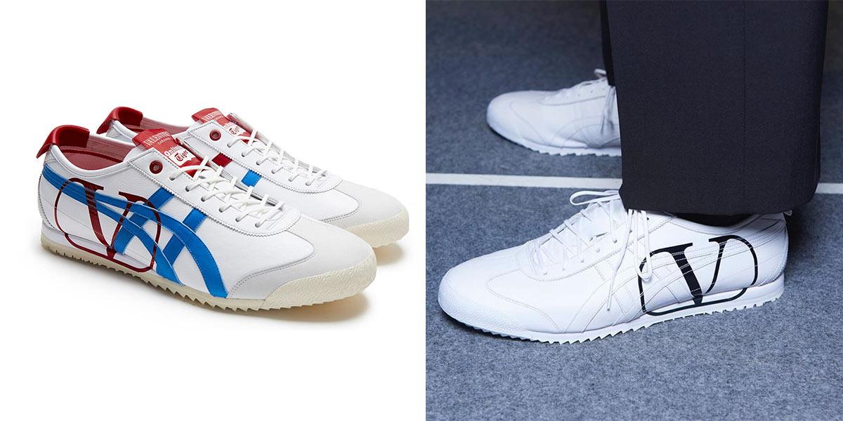Valentino Garavani và Onitsuka Tiger tung mẫu giày kết hợp đặc biệt thuộc BST nam Thu Đông 2020 - 02