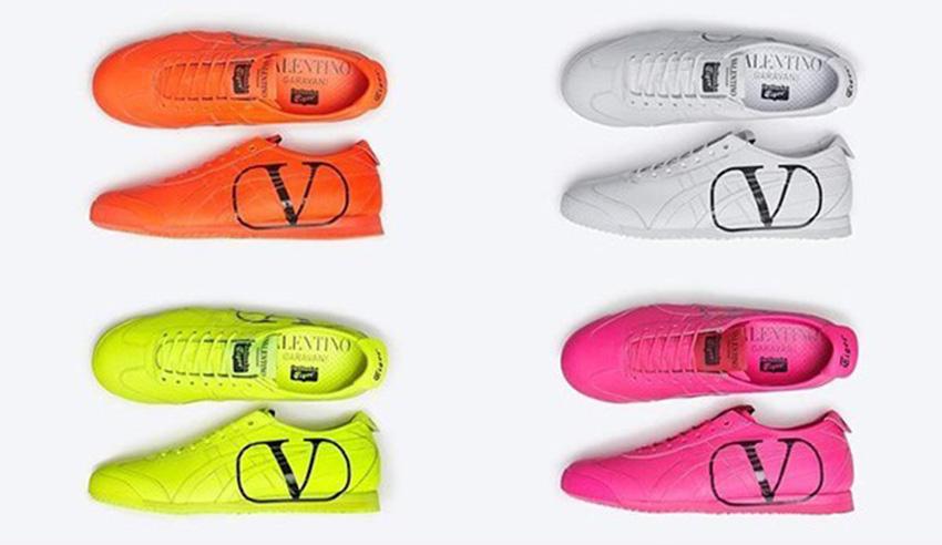 Valentino Garavani và Onitsuka Tiger tung mẫu giày kết hợp đặc biệt thuộc BST nam Thu Đông 2020 - 07