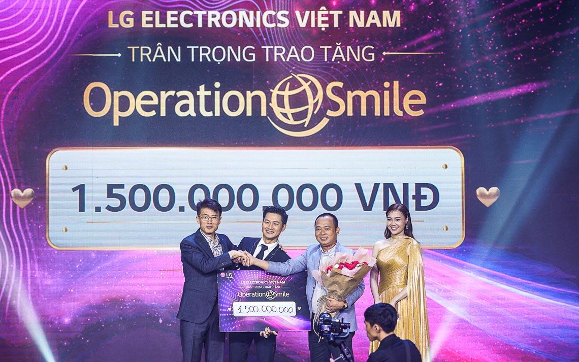 """LG Việt Nam đấu giá TV OLED 8K đầu tiên trên thế giới, dành tặng 1,5 tỷ đồng cho tổ chức """"Phẫu thuật nụ cười"""" - 1"""
