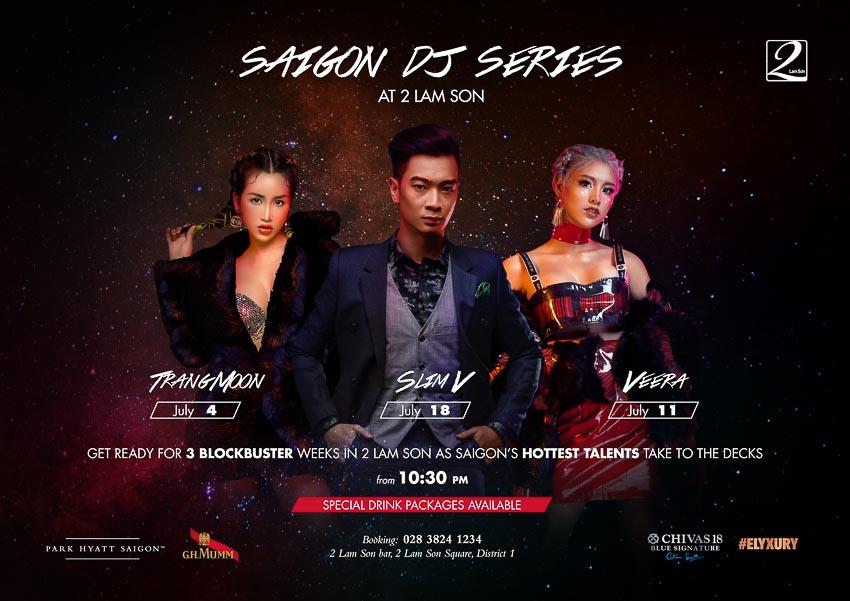 Đón hè sành điệu cùng chuỗi đêm tiệc âm nhạc tại 2 Lam Sơn!