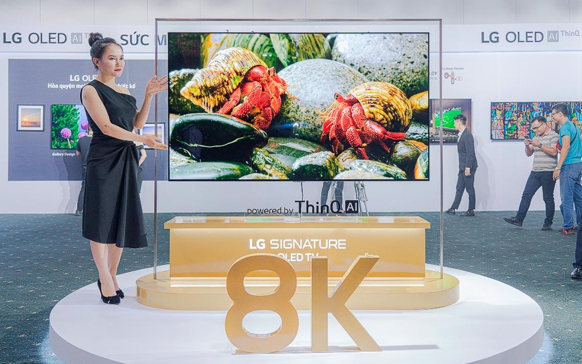 LG ra mắt thị trường Việt Nam dòng TV OLED 8K đầu tiên và duy nhất trên thế giới - 1
