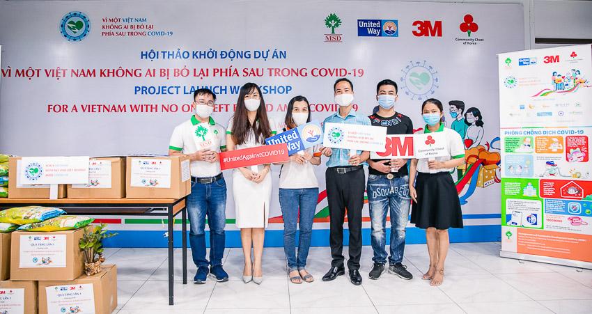 """3M tài trợ hơn 1 tỷ đồng cho dự án """"Vì một Việt Nam không ai bị bỏ lại phía sau trong đại dịch Covid-19"""" - 1 - 2"""