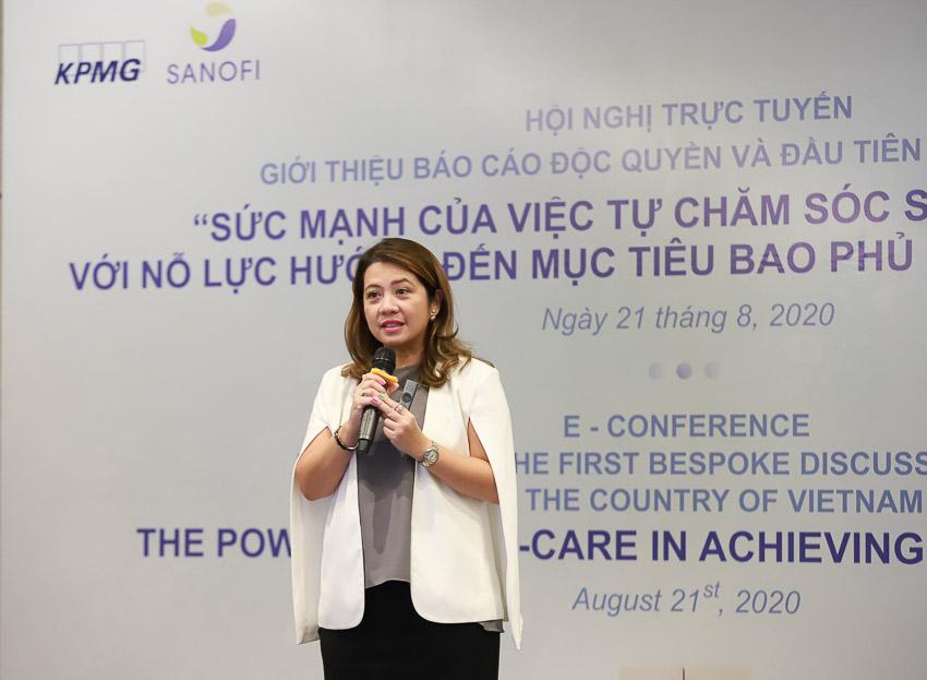 KPMG phối hợp Sanofi giới thiệu báo cáo độc quyền và đầu tiên về tự chăm sóc sức khỏe tại VN - 1