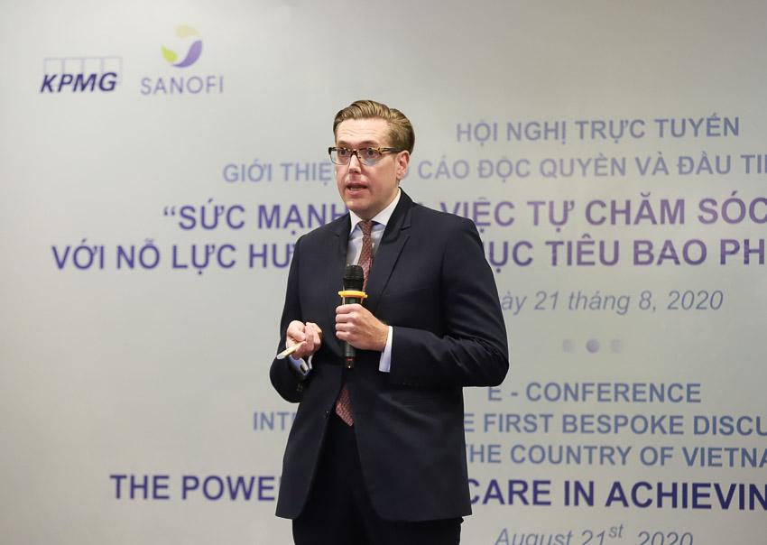 KPMG phối hợp Sanofi giới thiệu báo cáo độc quyền và đầu tiên về tự chăm sóc sức khỏe tại VN - 3