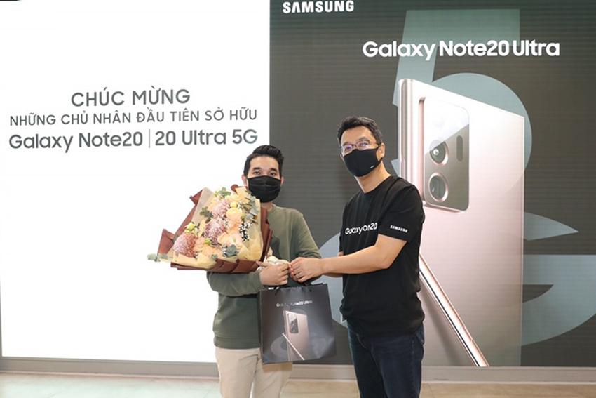 Samsung chính thức mở bán Galaxy Note20, Note20 Ultra - 2