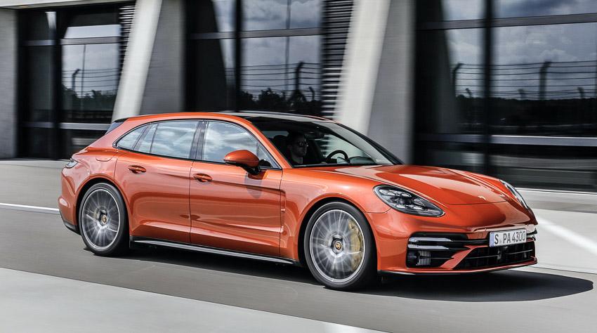 Porsche Panamera 2021 khả năng tăng tốc như siêu xe - 3