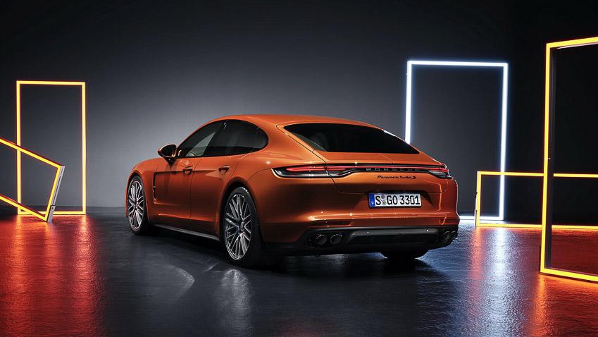 Porsche Panamera 2021 khả năng tăng tốc như siêu xe - 7