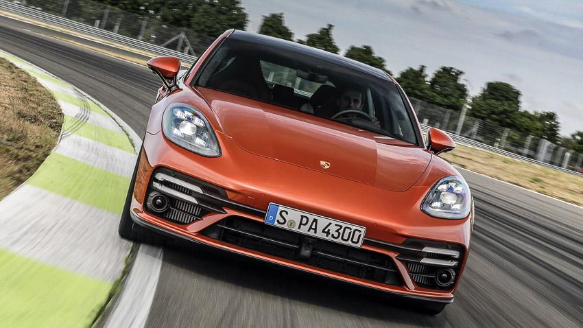 Porsche Panamera 2021 khả năng tăng tốc như siêu xe - 9